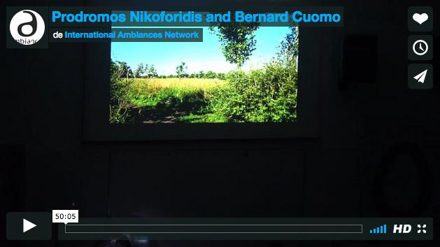Conférence de Prodromos Nikoforidis & Bernard Cuomo multilingue français et grec.