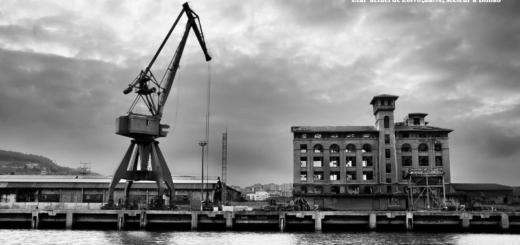 Etat actuel de Zorrozaurre, secteur à Bilbao. Photo de Inès Ramirez-Cobo, 2017