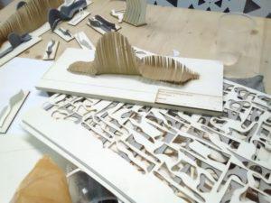 De nombreux prototypes ont été réalisés avant la définition des courbes définitives