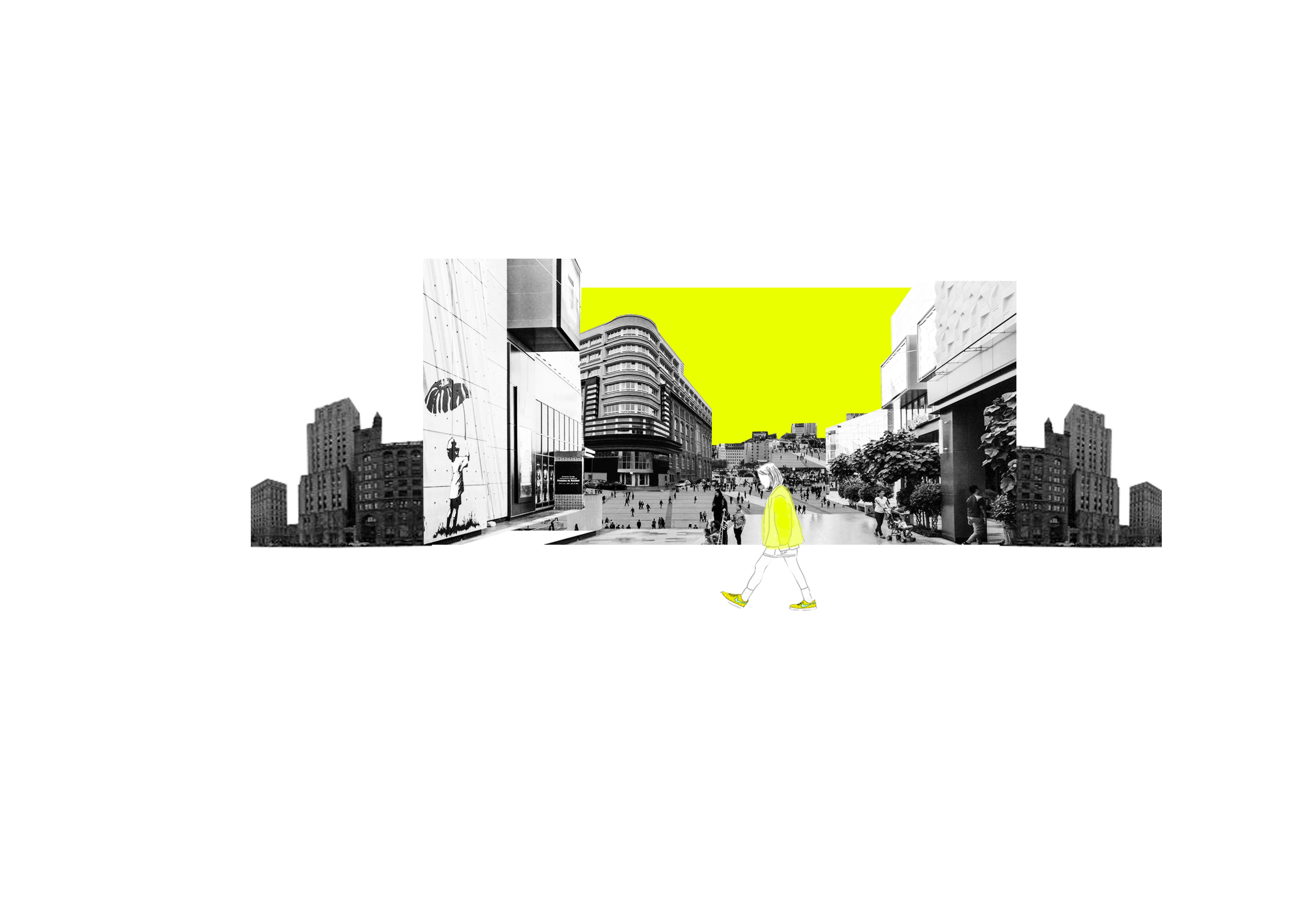 La ville regorge de situations phobogènes : rue bondée ou désertes, transports en commun, galeries commerciales…