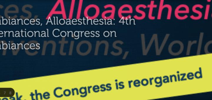 Image du congrès Ambiances 2020